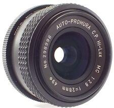AUTO-PROMURA C.P. Hi-Lux MC 28mm f/2.8 Minolta MD Mount Camera Lens - M28