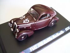 1936 FIAT 508CS 1000 MIGLIA MARAZZA / BENEDETTI - STARLINE 1/43 NEW HACHETTE COL