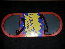 BABW Skate! Build a Bear Skateboard Wood Red Yellow Blue Gray 3+ Used FRSH