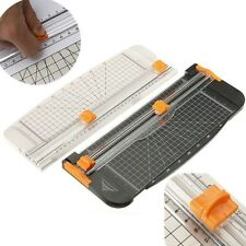 Portable Slim Manual 909-1 A4 Guillotine Paper Ruler Cutter Trimmer Machine NEW