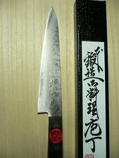 JAPANESE kitchen knife petty TANAKA knife 150mm Damascus VG10 stainless steel