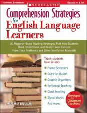 Comprehension Strategies for English Language Learners: 30 Research-Based Readin