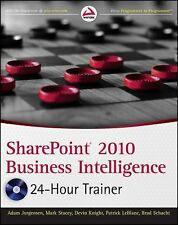 SharePoint 2010 Business Intelligence 24-Hour Trainer, Schacht, Brad, LeBlanc, P