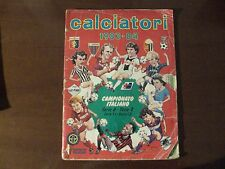 ALBUM FIGURINE CALCIATORI PANINI 83/84 COMPLETO!