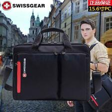 "SwissGear Business 14"" Notebook Laptop Case Bag Messenger Shoulder Bag Black"