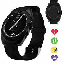 Heart Monitor Bluetooth Smart Watch for Boys Girls Men Women iOS Android Phone