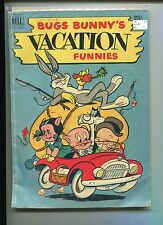 BUGS BUNNY'S VACATION FUNNIES DELL GIANT 1 VG-FN  116 PAGE  1951
