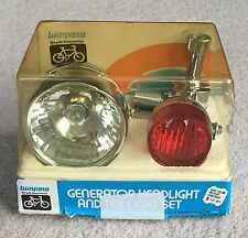 Vintage Winfield Bicycle Generator Headlight & Twilight Set Boxed