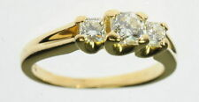 Lady 18K Hearts On Fire Hof Diamond Three 3 Stone Engagement Ring J224004