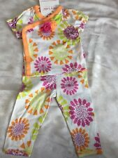 Girls 9 Months Boutique BABY LULU Bliss Patty Set 2pc Outfit NEW NWT Kimono