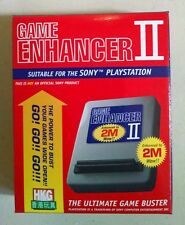 PlayStation Game Enhancer II w/ Mod Chip! Tons of Loaded GameShark Codes NEW!