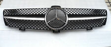 1-Fin SLS Front Grill Grille AMG Fits 05-08 Mercedes Benz W219 CLS