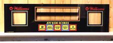 Williams TAXI Pinball Machine Display Speaker Panel BRAND NEW REPLACEMENT