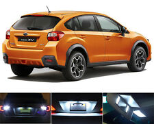 LED Package - License Plate + Vanity + Reverse for Subaru XV Crosstrek (8 Pcs)