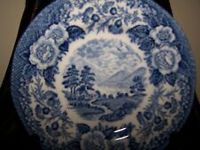 (Set of 2 Royal Warwick China LOCHS OF SCOTLAND (LOCH OICH) Bread & Butter Plate