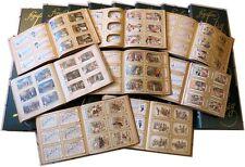 Importante collezione Liebig circa 1200 serie quasi tutte ITA Lotto Stock Chromo