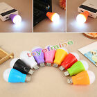 Mini USB LED Ball Light Camp Lamp Bulb For Laptop PC Desk Reading House Reading
