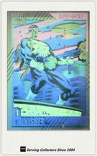 1991 Marvel Comics Hologram Trading Card H3: Punisher