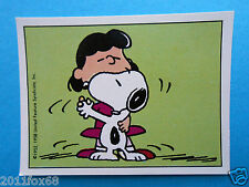 figurines figuren stickers snoopy figurine i love snoopy n. 60 panini 1980-90 gq