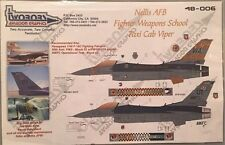 Twobobs 1:48 Nellis AFB Fighter Weapons School Taxi Cab Viper 48-006