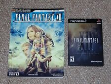 Final Fantasy XII: Collector's Edition Playstation 2 PS2 & Brady Strategy Guide
