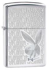 Zippo New 2014 Choice Catalog PlayBoy High Polish Chrome 28545