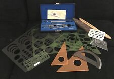 New listing Alvin Precision Drawing Instruments Engineering Drafting Tools Lot