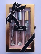 VICTORIAS SECRET ROLLERBALL PERFUME 3 PIECE GIFT SET BOMBSHELL VERY SEXY TEASE
