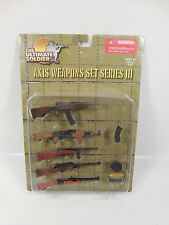 ULTIMATE SOLDIER WWII 1/6 SCALE AXIS WEAPONS SET SERIES III MOC 21ST CENTURY TOY