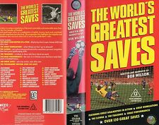 THE WORLD'S GREATEST SAVES - Football -VHS -PAL -NEW & SEALED!! - NEVER PLAYED!!