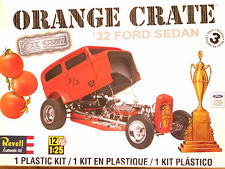 Revell Monogram 1:25 '32 Ford Sedan 'Orange Crate' Custom Car Model Kit