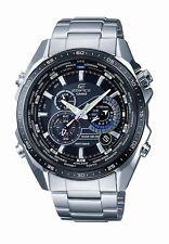 Casio Men's EQS500DB-1A1 Edifice Solar Stainless Steel Multi-Function Watch