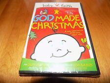 GOD MADE CHRISTMAS Baby Faith Babies Baby Jesus Story 3-36 Months DVD SEALED NEW