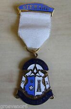 Royal Masonic Institution for Girls - Steward's Medal From 1974 - Post Free UK