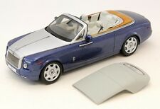 KYOSHO Rolls Royce Phantom Drophead Coupe Metropolitan Blue 1:18*New Item*