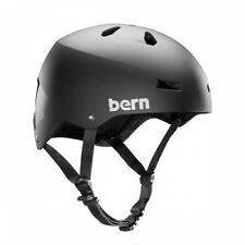 Bern Macon Cycling Helmet (Matte Black / XX-Large Size)
