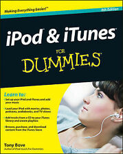 iPod & iTunes For Dummies (For Dummies (Computers)) Bove, Tony Very Good Book