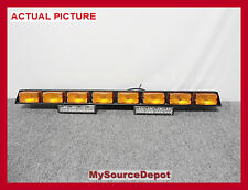 """42"""" FEDERAL SIGNAL SML8 SIGNAL MASTER LIGHT BAR,TOWING,SAFETY,320172,SERIES A"""
