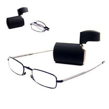 +2.50 Diopter Eschenbach Folding Micro Vision Reading Glasses, cheaters