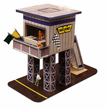 1:64 Scale Slot Car HO Photo Real Marshalling Tower  fits Aurora, AFX BK 6429