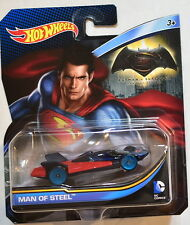 HOT WHEELS 2016 BATMAN V SUPERMAN DC COMICS MAN OF STEEL