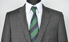 HUGO BOSS Grey Check/Tartan Blazer UK 38 Eur 48 Gr Jacket Suit Sport Sakko Jacke