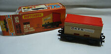 Matchbox  Superfast- MB 25 Flat Car/ Container   -Made in England OVP