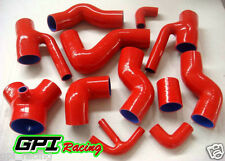 Silicone Induction Intake Hose for Audi S4 RS4 Biturbo A6 B5 2.7T Bi-Turbo red
