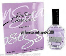 NIB SENSUAL OBSESSION by JOHAN B FOR WOMEN 3.4 OZ / 100 ML EAU DE PARFUM SPRAY