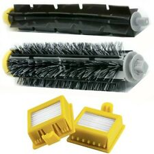BRUSH BRISTLE E FLEXIBLE PER IROBOT ROOMBA + 2 FILTER HEPA SERIE 700 760 770 780