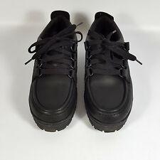 Propedo  Damen Gr.37 Halbschuhe Schuhe Schwarz Leder Schnurschuhe