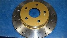 DBA4540XS 4000 XS Cross-Drilled and Slotted Front Vented Disc Brake Rotor
