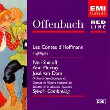 Offenbach Les Contes d'Hoffmann Hightlights Cambreling Emi CD.New & Sealed