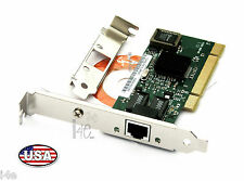 Gigabit Ethernet LAN with Low Profile PCI Network Card NIC 10/100/1000 Mbps